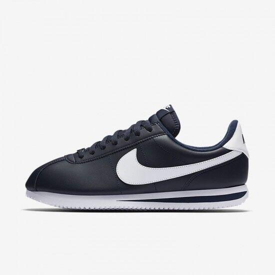 Nike Cortez Basic Leather Obsidian Blue