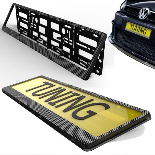 CAR Number Plates show Holder SURROUND new caravan trailer tuning part screws