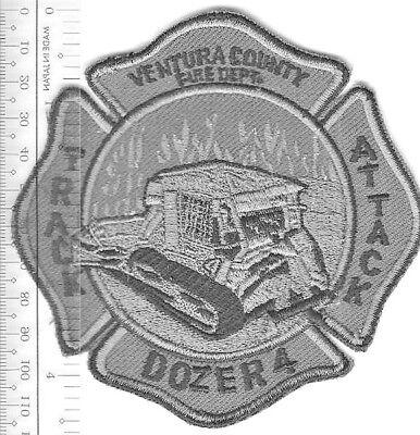 Dozer Ventura County Fire Department Track Attack Dozer 4 Fire Engine 45 Wildand
