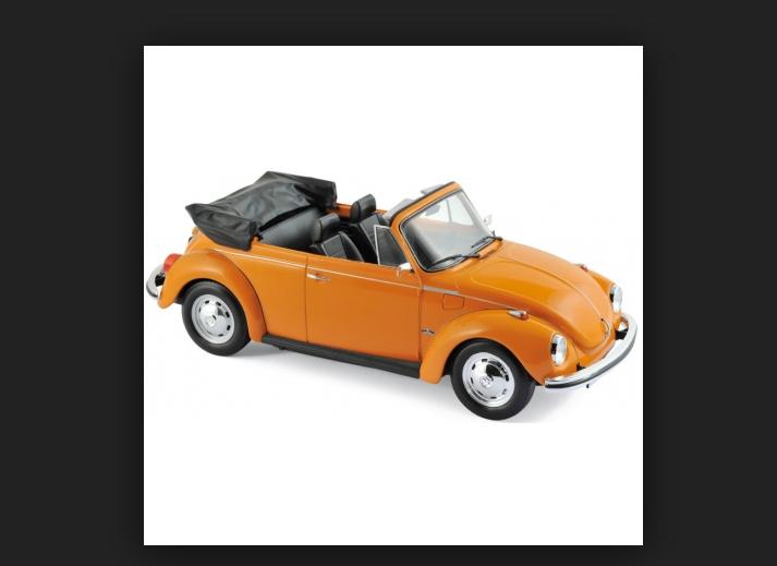 VW 1303 Cabriolet Orange 1 18 Norev 188521
