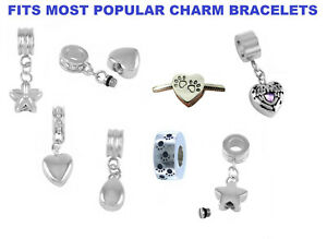 Details About Cremation Jewellery Charm Memory Ash Urn Bracelet Charms Keepsake Ashes Memorial
