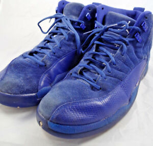 watch 27c4b 404fe Details about Air Jordan 12 Retro Deep Royal Blue Suede 130690-400 SZ 11.5