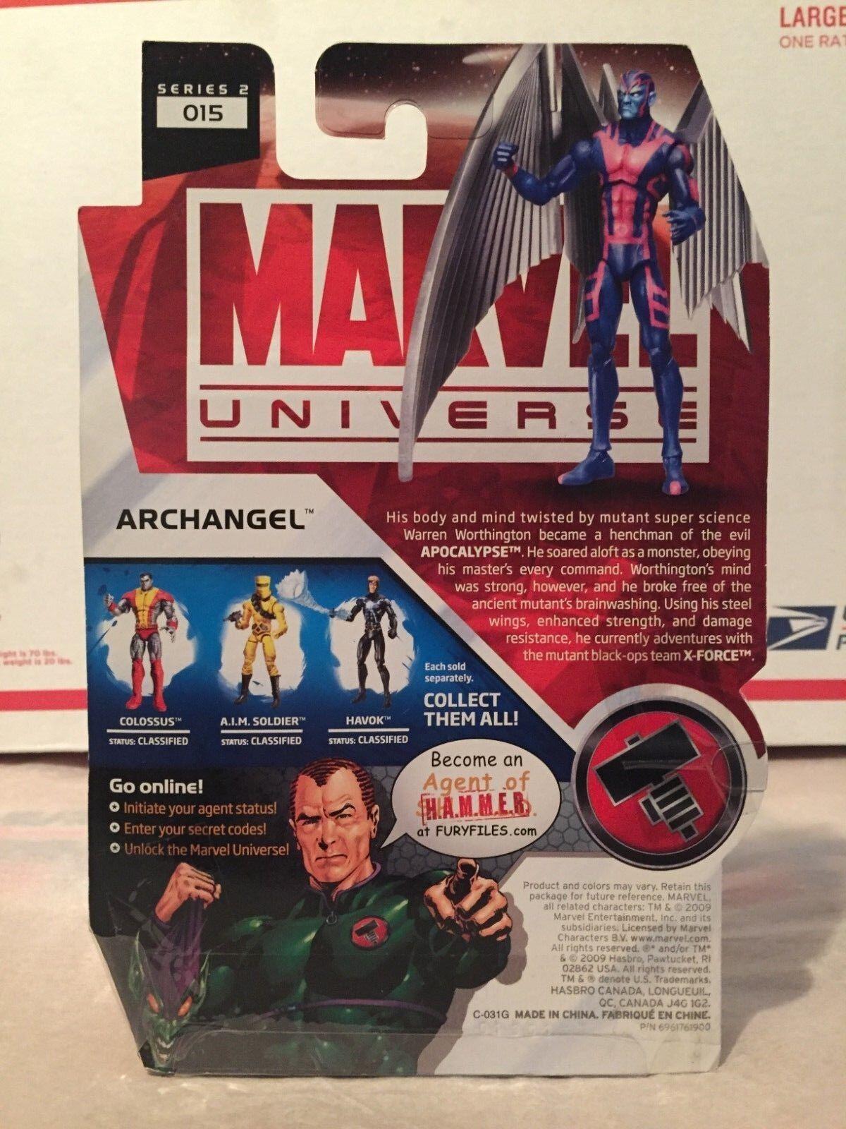 Hasbro Marvel Universe Series 2 Archangel Death Mask Mask Mask Variant MOSC  92e237
