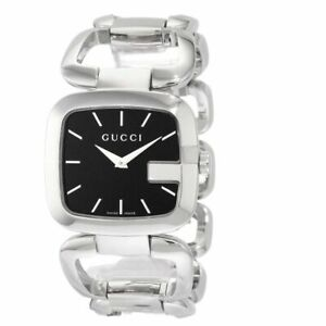 GUCCI YA125407 Women's Stainless Steel Swiss Made Watch New With Box No Tags
