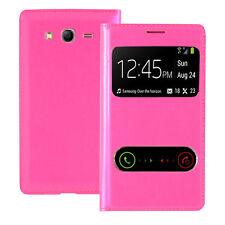 Housse Etui Coque View Case ROSE Samsung Galaxy Grand Plus/ Neo/ Lite I9060