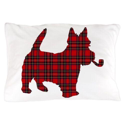 "20/""x30/"" CafePress Scottish Terrier Tartan Standard Size Pillow Case 784105838"