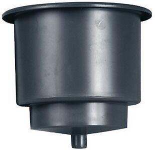 "New Drain Spigot Cup Holder beckson Marine Gh43d-b1 Black 3-9//16/"" ID x 3-1//4/"" D"