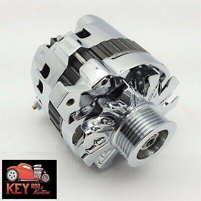 GM Chrome CS130 160 Amp Alternator Serpentine Belt 1 Wire Chevy ... gm alternator identification eBay