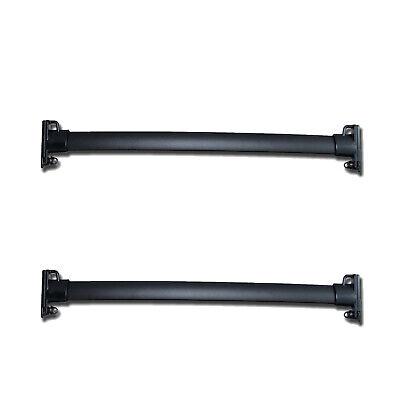 OEM NEW 2007-2013 Ford Edge Roof Rack CROSS BARS Kit Pair Black Lincoln MKX
