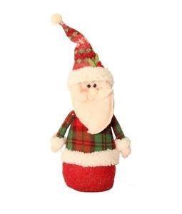 Caricamento dell immagine in corso verticale-BABBO -ROSSO-LUCCICANTE-decorazione-di-Natale-ornamento- bb8cb3065277