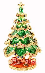 Jeweled Large Christmas Tree with Faux Pearls. Hand Set ...