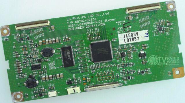 42 42HL67 42HL67U 6870C-0223A 0978B T-Con Timing Control Board