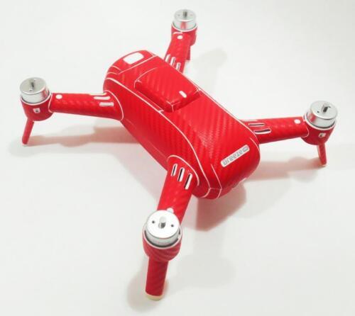 Yuneec Breeze Decal Zubehör Drohne Wrap Akku 24 Farben//Colours Skin