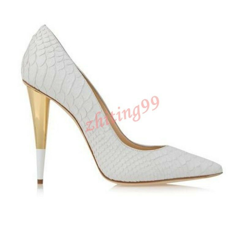 Lady Pointed Toe Zip Club Classic Pumps Heels Evening Party Party Evening Shoes Stiletto Vogue cf19a3