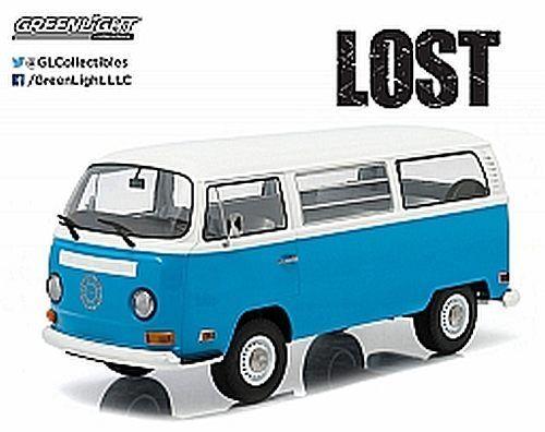 1971 Volkswagen Bus azul 1 18 19011