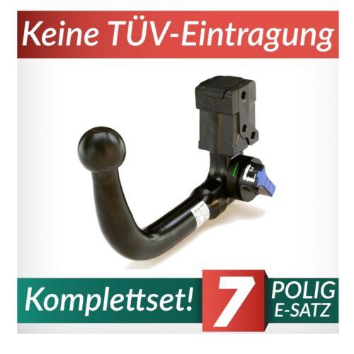 Anhängerkupplung abnehmbar+E-Satz 7p Für Hyundai i30 III PD SW Kombi ab 17 Kpl