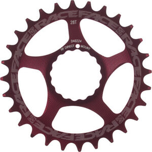 Race Face Cinch Direct Mount Narrow//Wide Chain Ring Red 30T