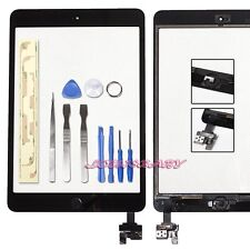 REPLACEMENT APPLE IPAD MINI 1 MINI 2 BLACK TOUCH SCREEN DIGITIZER LENS IC CABLE