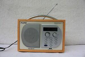 Pure-Tempus-1-Tempus-1-DAB-Digital-Radio-Portatile-di-ricambio-e-riparazione