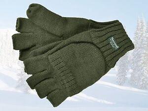 Strickhandschu<wbr/>he Handschuhe ohne Fingerkuppen von SKOGEN