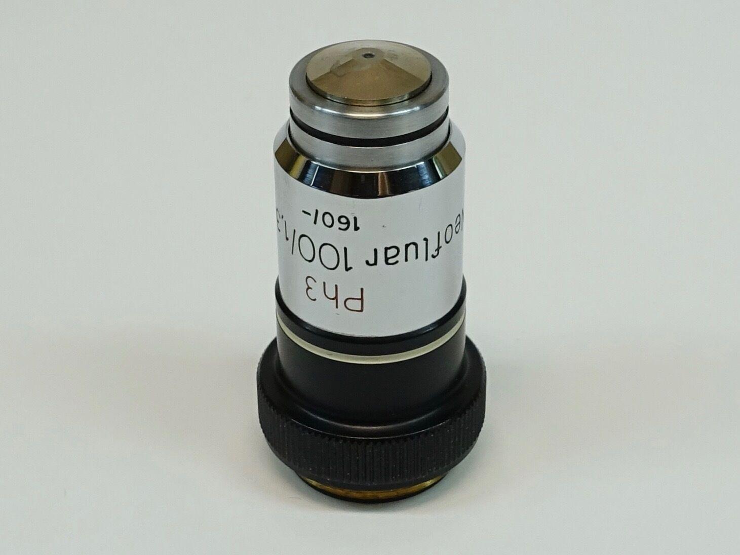 Zeiss neofluar 100X/1.30 160/- Ph3 objetivo De Microscopio De Aceite Aceite Aceite 628003