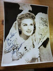 Dorothy-Sarnoff-Autographed-B-amp-W-Photo