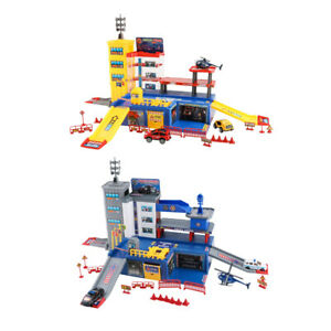 Jeux-de-Role-1-36-Modele-de-Parking-Garage-Constructions-Jouet-de