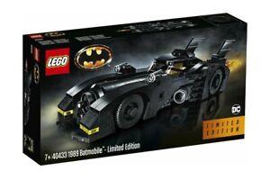 LEGO-Set-40433-Batman-DC-Comics-1989-Batmobile-Limited-Edition-Sigillato