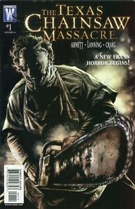 The-Texas-Chainsaw-Massacre-1-Wildstorm-Comic-PLUS-Variant-See-Scans