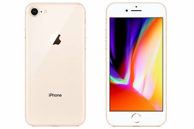 Neuf Apple iPhone 8 A1863 64Go Or Factory Unlocked+Gift