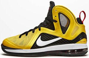 save off 8a105 66773 Image is loading Nike-LeBron-9-IX-P-S-Elite-Taxi-Size-