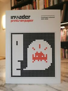 Invader Prints On Paper Catalogue Raisonne 2001-2020 - 2nde impression