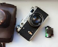FED 2 Russian camera USSR LEICA,HQ 1957 year good condition with test photos
