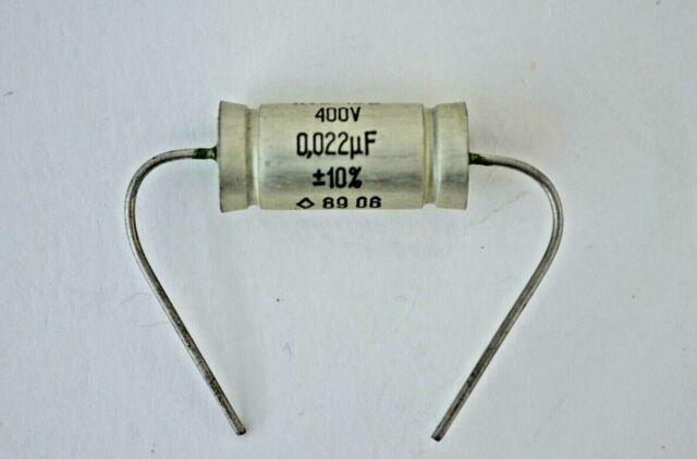 400 pcs  0.027uF 27nf  100V  K73-24V  NOS NIB guitar tone capacitors