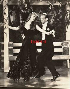 Ginger Rogers Fred Astaire Vintage Original Photo 38 Carefree Rare Dancing Ebay