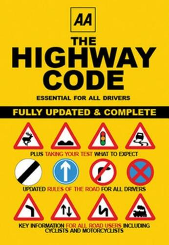 AA The Highway Code Book Traffic Rules Regulations Laws Signs Road Markings