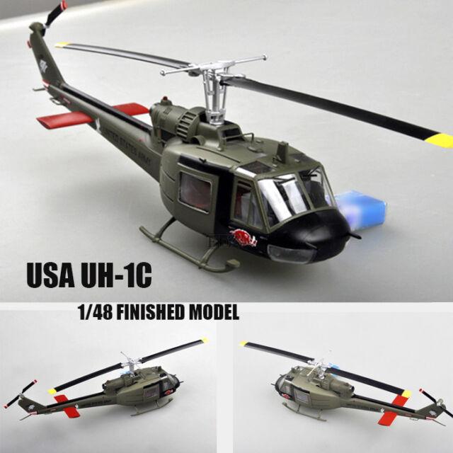 Easy Model 39316-1//48 uh-1c Huey Helicopter-US 3rd pelotón 1969-nuevo