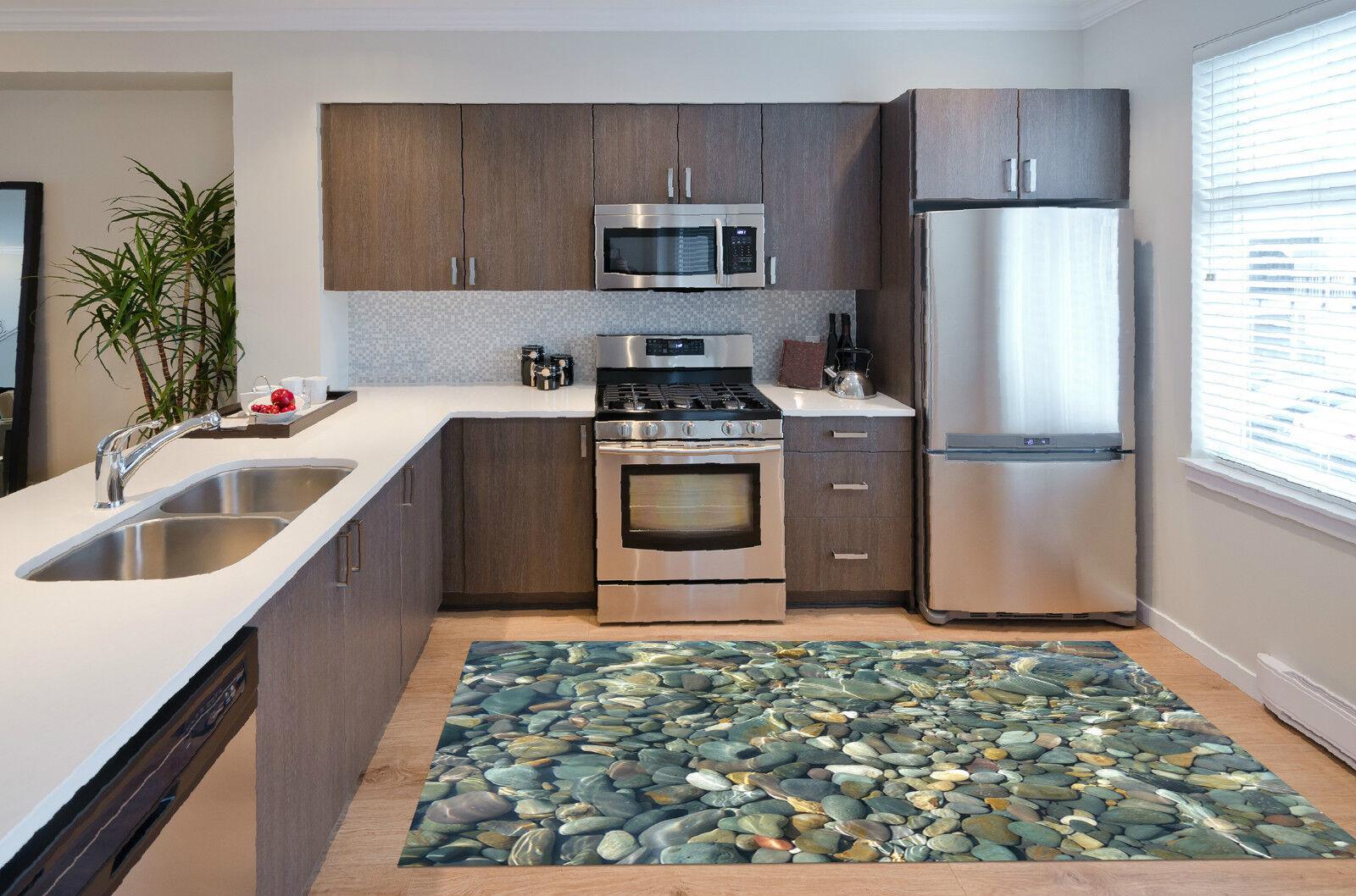 3D Water Stones 5 Kitchen Mat Floor Murals Wall Print Wall Deco AJ WALLPAPER CA