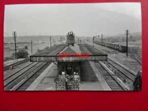 PHOTO-WOODHOUSE-MILL-RAILWAY-STATION-MIDLAND-RLY-C1950-KILLAMARSH-TREETON-RO