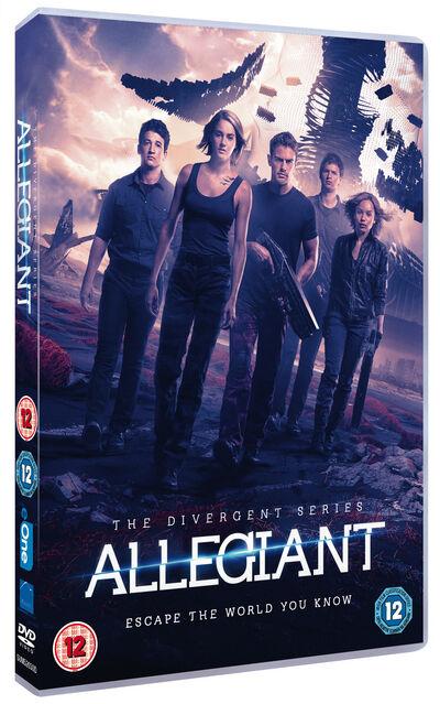 Allegiant 2016 Dvd For Sale Online Ebay