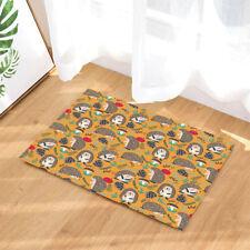Deer And House Streamlet Bathroom Rug Non-Slip Floor Indoor Front Door Mat 40x60