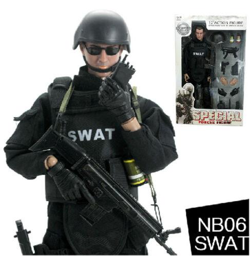 "Military 12/"" 1//6 Soldier SWAT Action Figure Model Toy Combat Suit Retail Box"