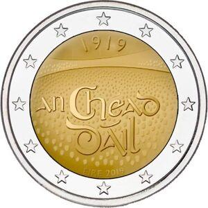 irish 2 euro coin 2019