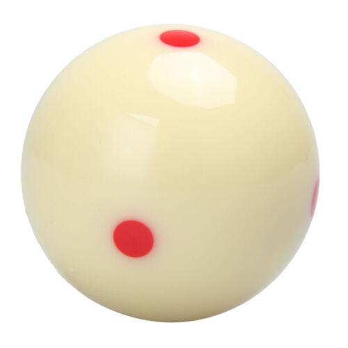Rundheit Spielball Standard Härte 6 Punkt Pool-Billard Übung Dauerhaft