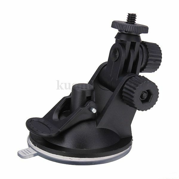 Windshield Car Suction Cup Camera Holder Mount Stand for Gopro SJCAM SJ4000