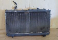 99-03 MAZDA PROTEGE 1.6L 4 CYL RADIATOR AND DUAL ELECTRIC COOLING FANS USED