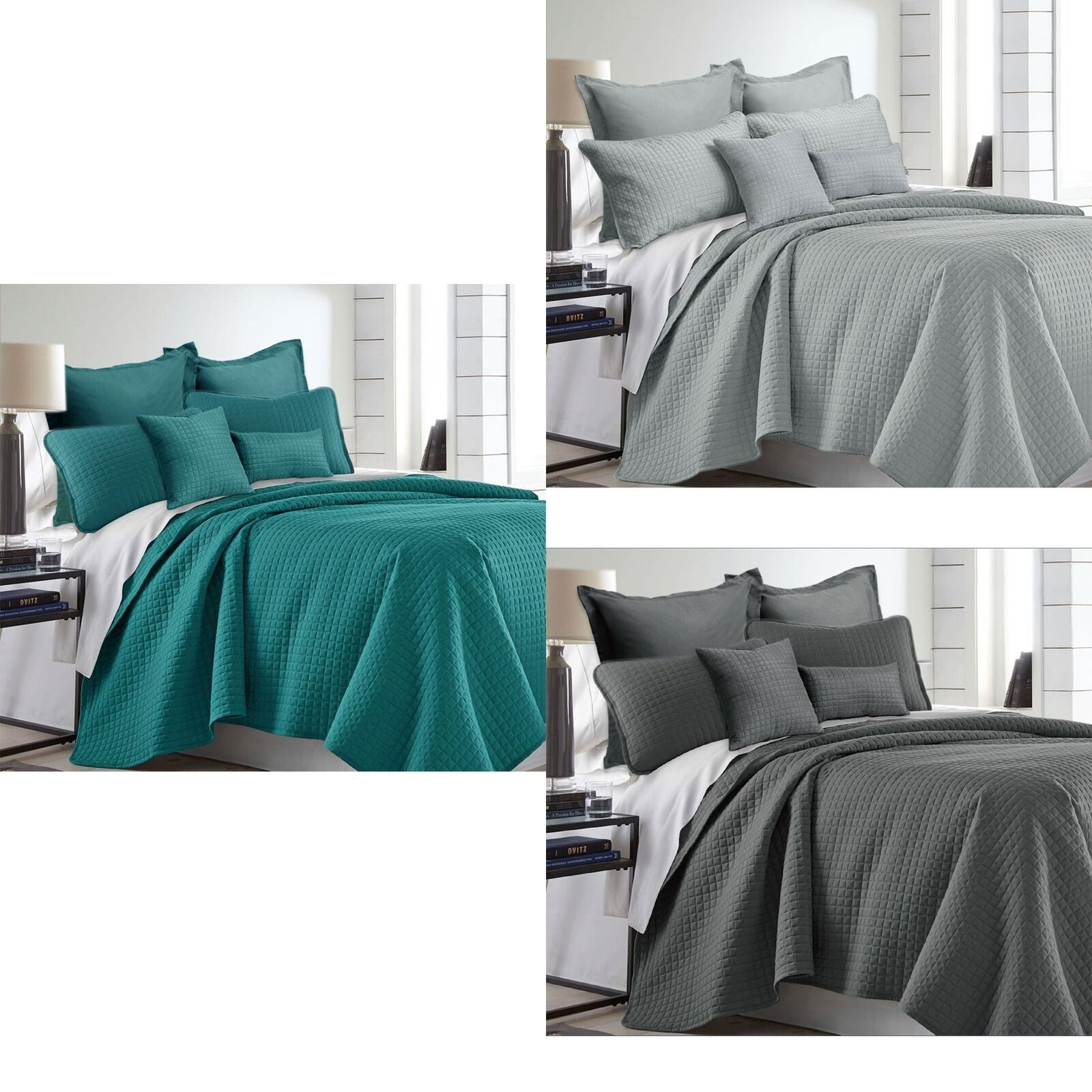 7 Piece Premium Hotel Collection Comforter Set by Ramesses - QUEEN KING