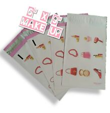 Upaknship 6x9 Make Up Print Designer Poly Mailers Shipping Envelopes