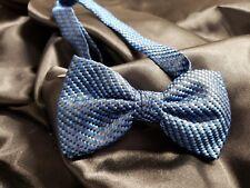 Boys Pre Tied Bow Ties Black Apple Plum Dusty Blu Suit Tux Prom Retro Steampunk