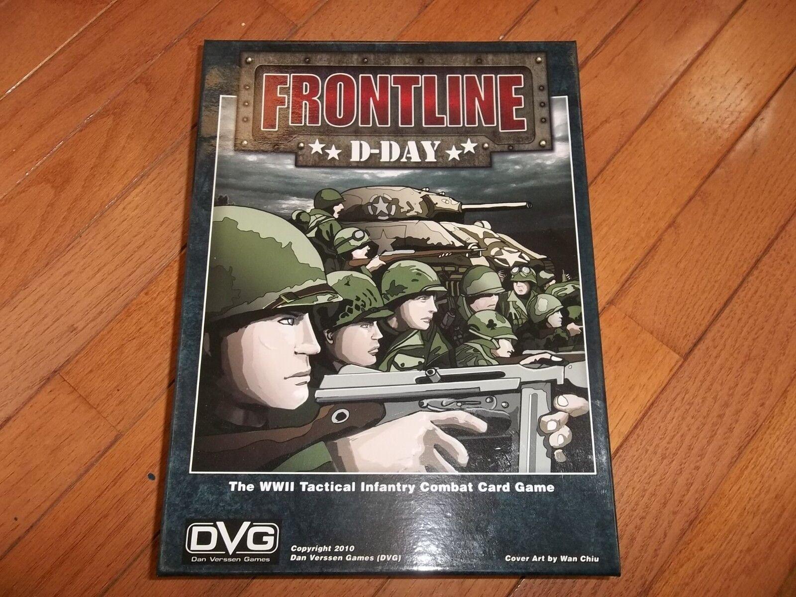 Dan Verssen Games (DVG) Frontline D-Day
